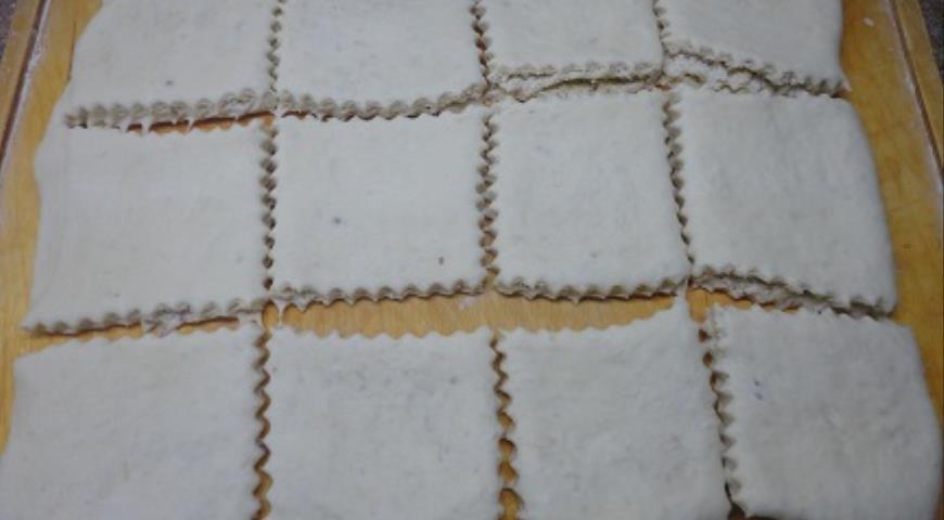 Сливочные слойки с ореховым штрейзелем, пошаговый рецепт с фото