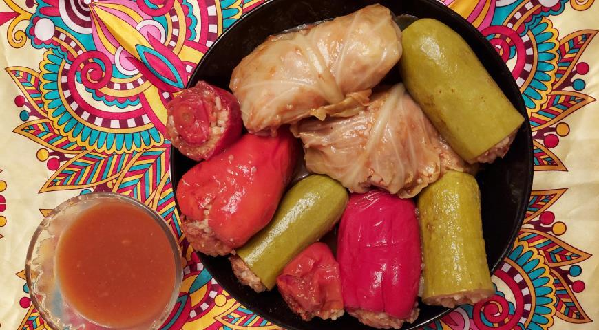 Долма по-иракски, пошаговый рецепт с фото