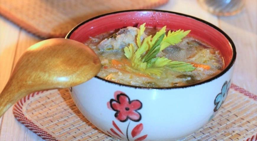 Суп с кус-кусом и белокочанной капустой, пошаговый рецепт с фото
