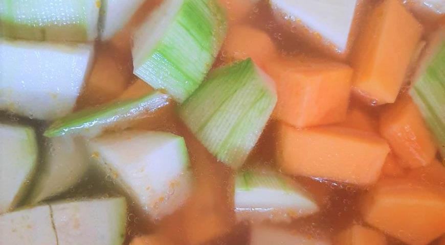 Тыквенный суп со сливками, пошаговый рецепт с фото