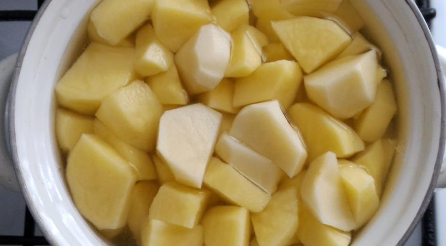 Картофельно-тыквенный суп-пюре, пошаговый рецепт с фото