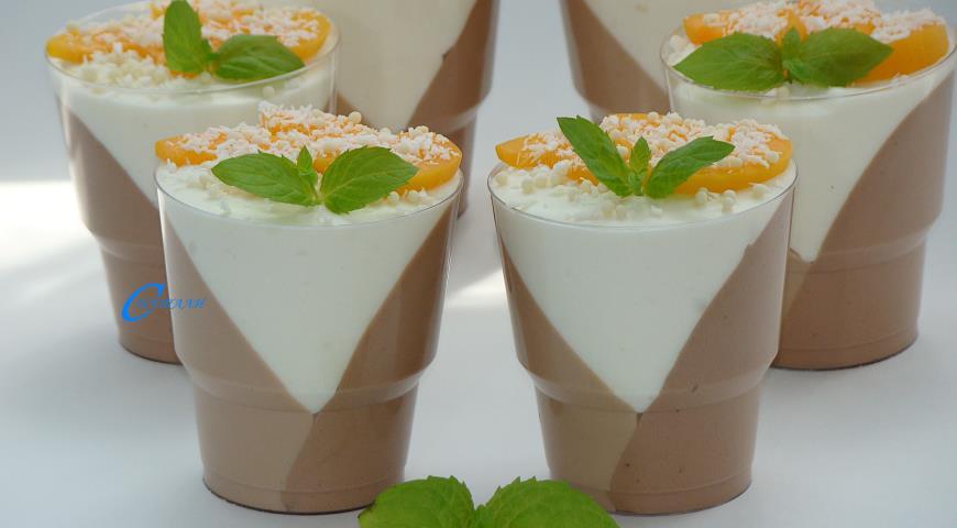 Мусс Три шоколада, пошаговый рецепт с фото