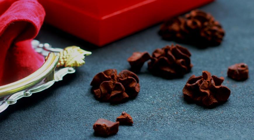 Шоколадные трюфели низкоуглеводные, пошаговый рецепт с фото