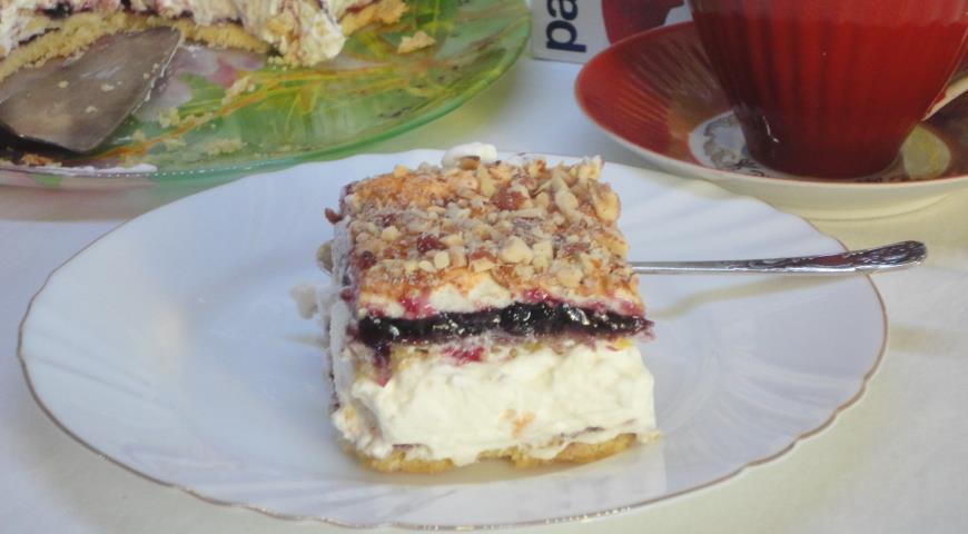 Торт пани Валевской , пошаговый рецепт с фото