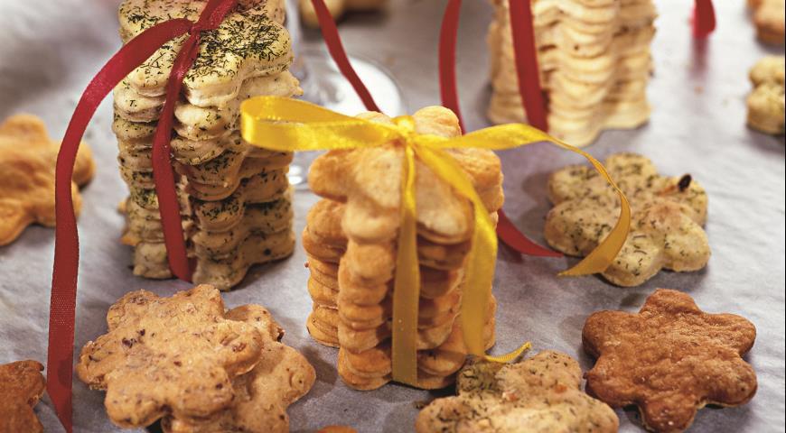 Рецепт Коктейльное печенье