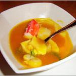 Рецепт Крем-суп из тыквы с крабом