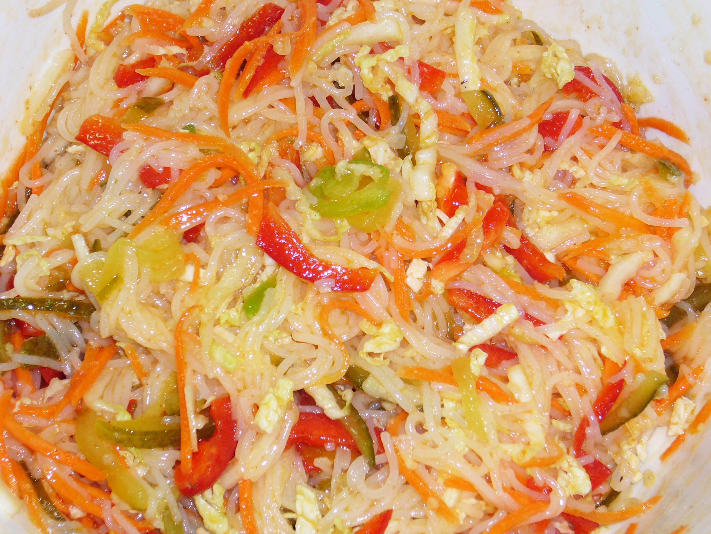 болгарский перец капуста морковь салат