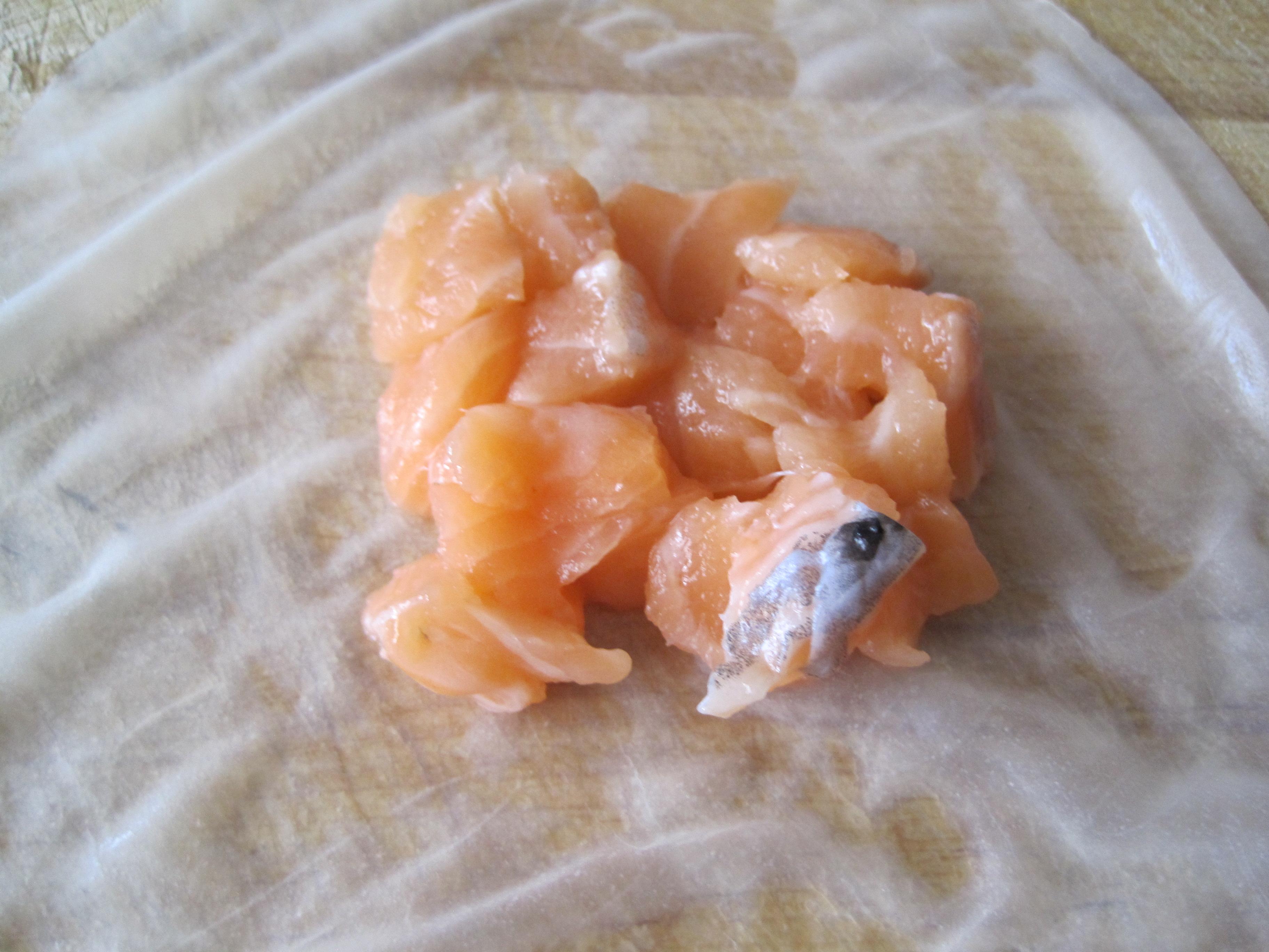 Рецепт Сливочная семушка с сельдереем, в рисовых мешочках
