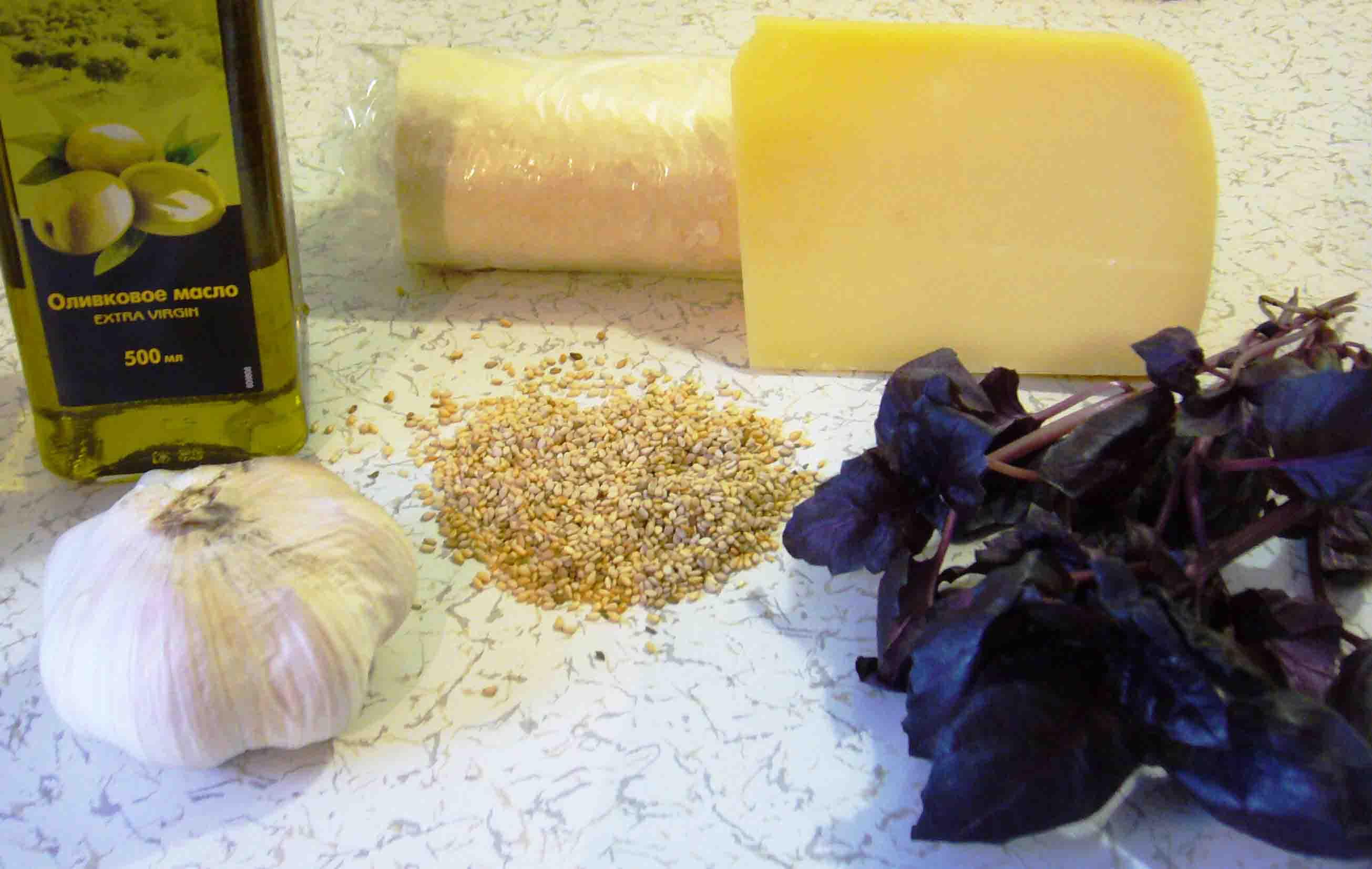 Рецепт Гриссини с базиликом
