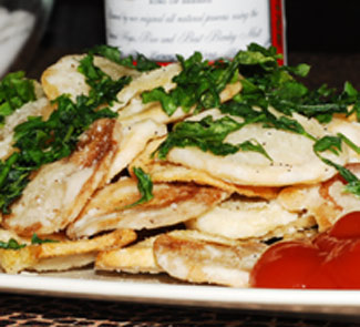 Рецепт Картофель a-la чипсы