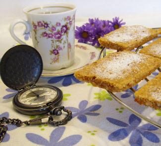 Рецепт Овсяно-ореховое печенье Файв-о-Клок