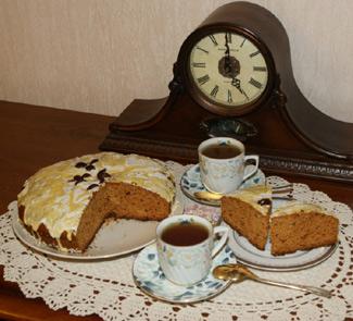 Рецепт Медовый кекс со специями