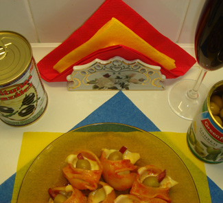 Рецепт Испанская паста по-русски (La pasta espanola en ruso)