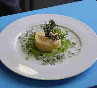 Рецепт Европейский салат с яйцом для здоровья