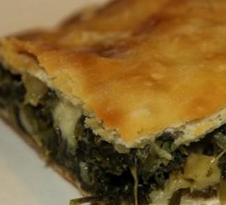 Рецепт Греческий пирог со шпинатом