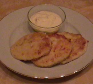 Рецепт Сырники с сыром и шпинатом