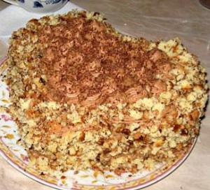 Эклерный торт рецепт сердце