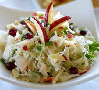 Квашеная капуста на салат