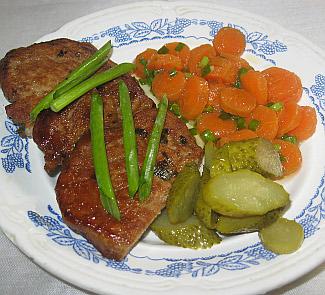 Рецепт Свинина в огуречном маринаде