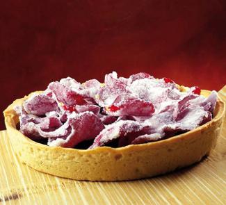 Рецепт Розовый пирог