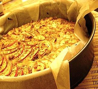 Рецепт Пряный яблочный пирог