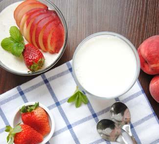 Рецепт Йогуртовая паннакотта с белым шоколадом