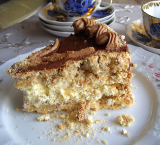 Киевский торт. Рецепт Киевского торта в домашних условиях 62
