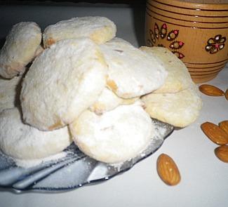 Рецепт Печенье с лаймом и миндалем