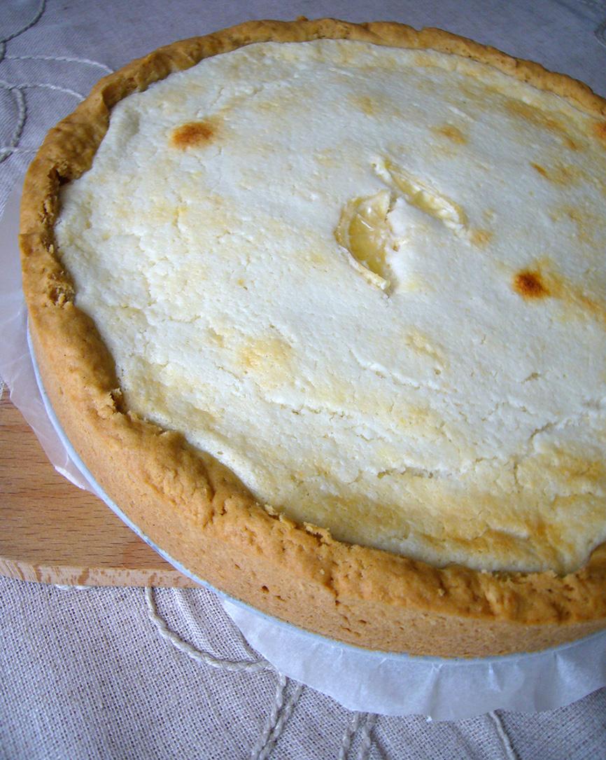 Рецепт Пирог с кокосово-творожным суфле