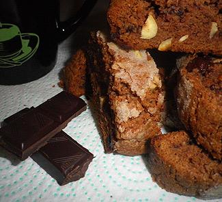 Рецепт Шоколадное бискотти с фундуком