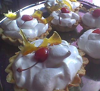 Рецепт Десерт корзиночки Бель