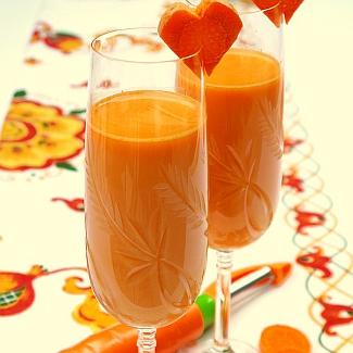 Рецепт Морковный коктейль из Ямайки