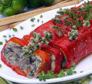 Рецепт Террин из баклажанов и сладких перцев