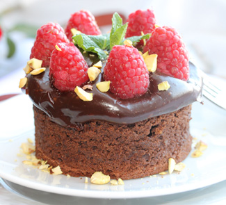 Рецепт Шоколадно-миндальные пирожные