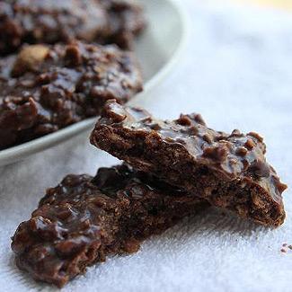 Рецепт Шоколадно-овсяное печенье без выпечки