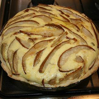Рецепт Пирог с пореем