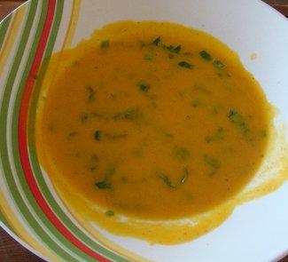 Рецепт Сырно-тыквенный суп-пюре