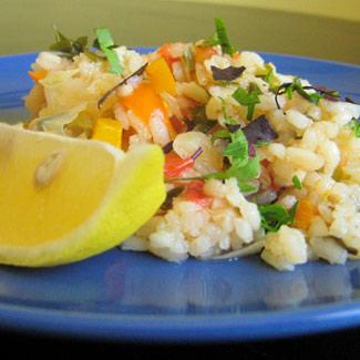 Рецепт Лаханоризо - рис с капустой