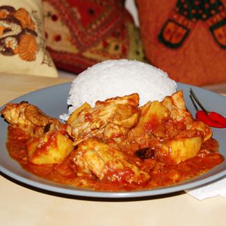Рецепт Курица по-индийски или чикен масала