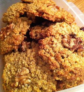 Рецепт Быстрое овсяное печенье