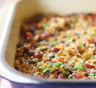 Рецепт Каджунский рис