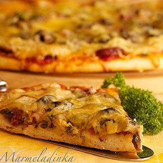 Рецепт Почти итальянская пицца