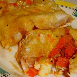Рецепт Конвертики из лаваша с тыквой