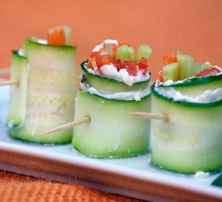Рецепт Вегетарианские овощные роллы