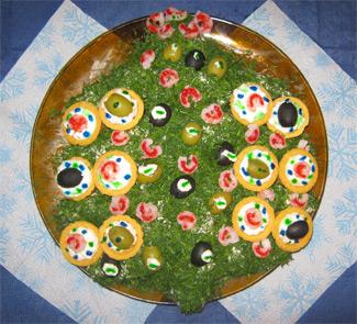 Рецепт Салат Новогодняя елка