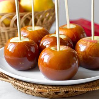 Рецепт Карамельные яблочки