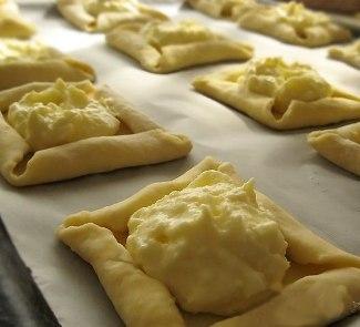 Рецепт Творожное печенье с фруктами