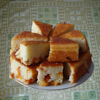 Рецепт Абрикосовый манник