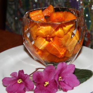 Рецепт Лимонно-карамельная тыква