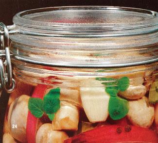 Рецепт Пряная грибная закуска